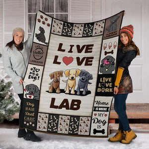LABRADOR RETRIEVER - CHRISTMAS, BIRTHDAY GIFT - LIVE LOVE LAB