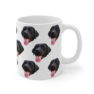 Custom Dog Mug - Dog Mom Coffee Mug - Custom Dog Gift - Dog Picture On Mug - Dog Lover Gift - Family Presents - Great Blanket, Canvas, Clothe, Gifts For Family