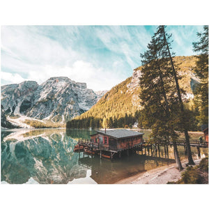 Jigsaw Puzzles Lake Scenery Large Adult Jigsaw, Fun Family Game - Family Presents - Great Blanket, Canvas, Clothe, Gifts For Family