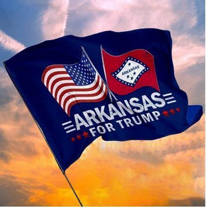 Arkansas For Trump Garden Flag, House Flag