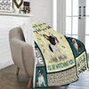 Dog Blanket Every Meal You Make Boston Terrier Dog Fleece Blanket