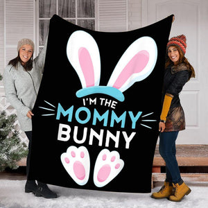 Custom Blanket Easter Egg Blanket - Gift For Mommy - Fleece Blanket