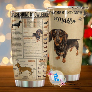 Dachshund Knowledge – Tumbler 20oz TA032801