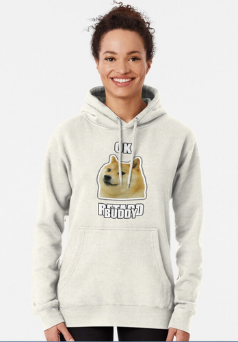 Okbuddyretard Hoodie - Family Presents - Great Blanket, Canvas, Clothe, Gifts For Family