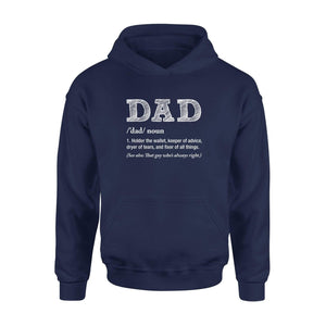 Dad Noun Hoodie - Family Presents