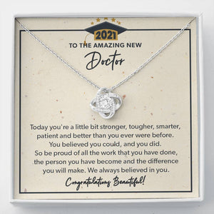 You Did - Knot Necklace - to New Doctor