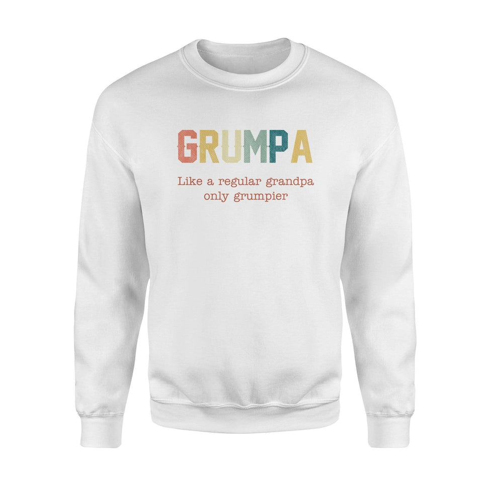 Grumpa Fleece Sweatshirt - Family Presents