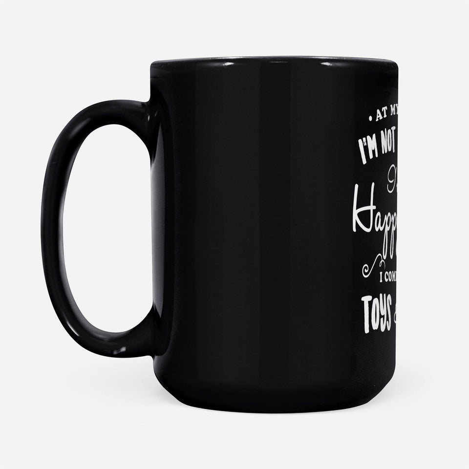 at my age i'm not a snack - Black Mug