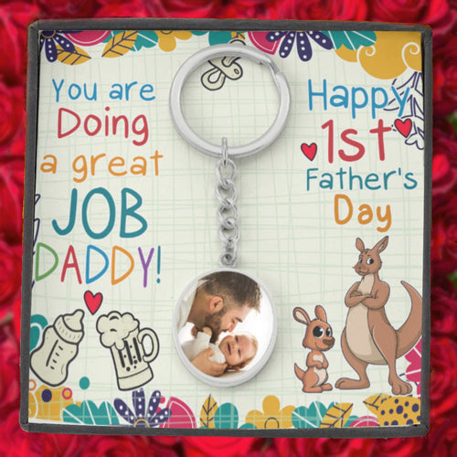 Happy First Father's Day-You are doing a great job Daddy