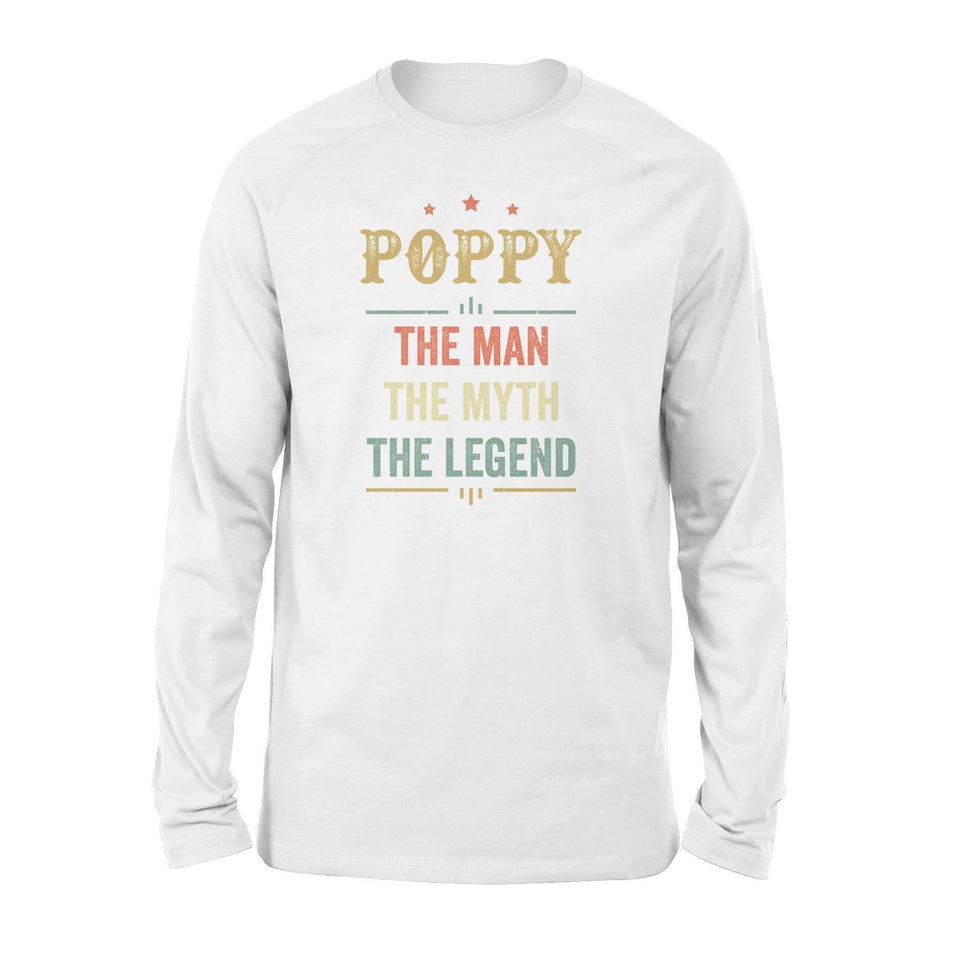 Poppy The Man The Myth Long Sleeve - Family Presents