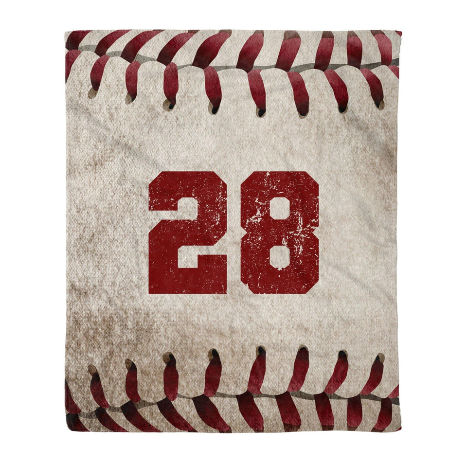 Custom Baseball Blanket