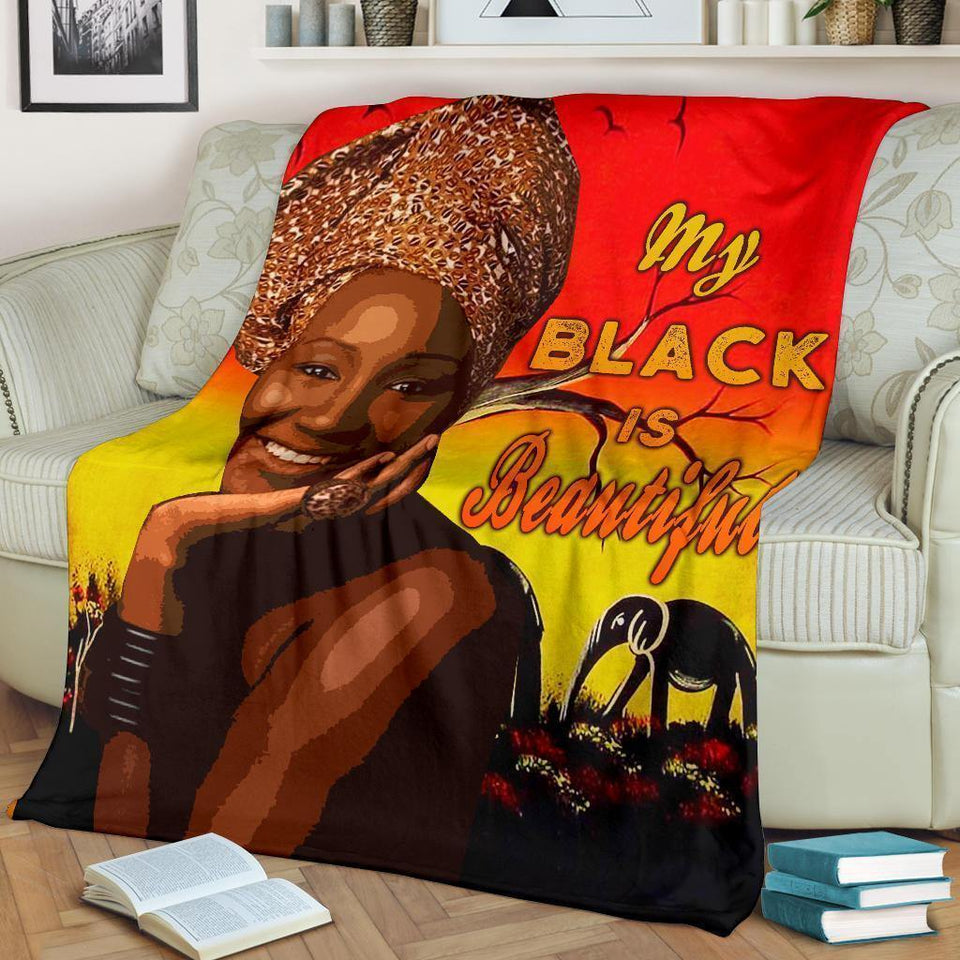 African Culture CLXXXIV Blanket