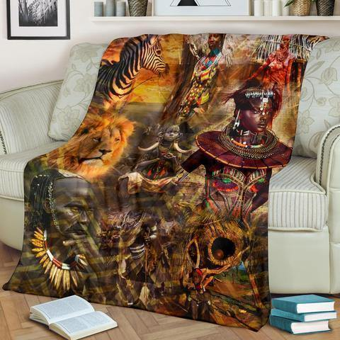 African Culture XXV Blanket