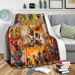 African Culture CLII Blanket