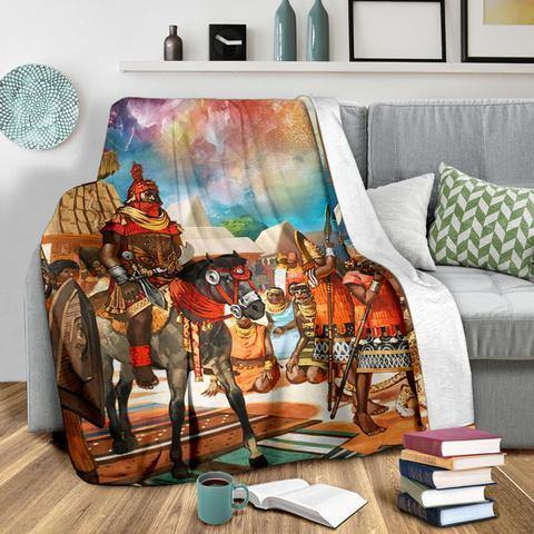 African Culture CLXV Blanket