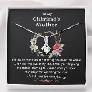 Mother's Day Necklace - Gift For  Girlfriends Mom From Future Son - 14k White Gold Necklace - I Now Call The Love Of My Life