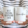Best Fucking Boyfriend Ever - Valentine's Day Gift For Boyfriend, Anniversary Gift For Him, Funny Boyfriend Mug, Custom Boyfriend Gift - Family Presents - Great Blanket, Canvas, Clothe, Gifts For Family