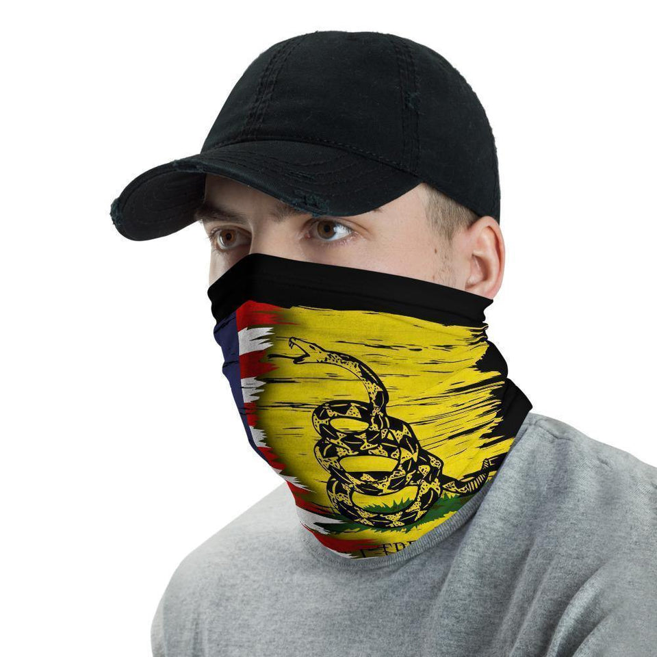 2A Gadsden Face Gaiter Cover Face Mask