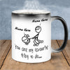 Personalized Mug, You Are My Favorite Thing To Do Color Changing Mug Mugs, Funny Gift For Her, Him