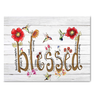 CANVAS - Hummingbird  - Blessed