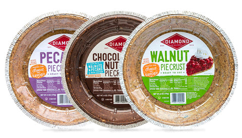 Packages of nut pie crusts