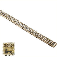 14K Yellow Gold Rolex Link Bracelet