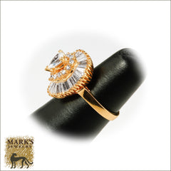 18K Yellow Gold 2.50 dtw Diamond Ring-Dant, Marks Jewelry Birmingham AL