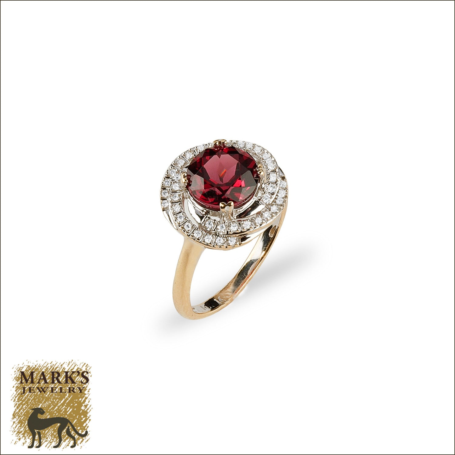 rings engagement ring rhodolite three gold garnet j id master jewelry stone diamond at