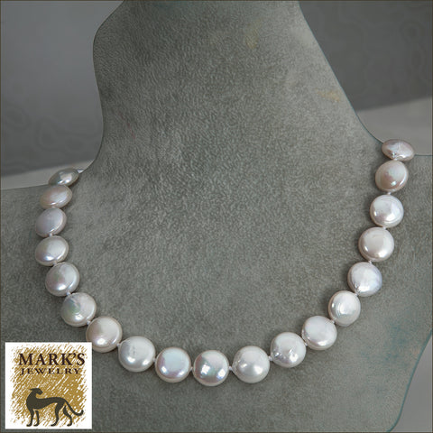 * 05821 Coin Pearl Necklace