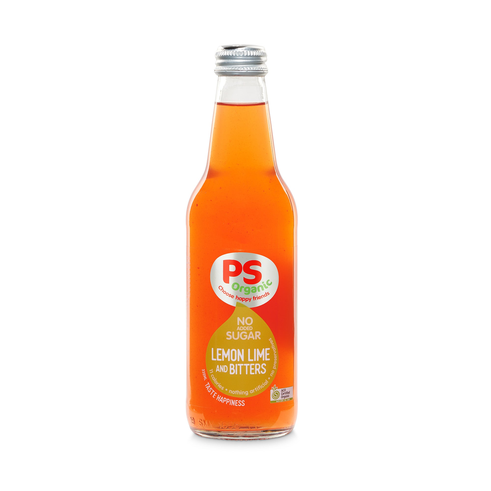 No Sugar Lemon Lime Bitters 330ml
