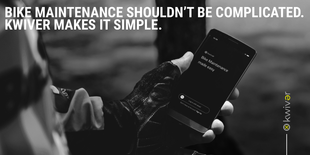 bike maintenance shouldn't be complicated. Kwiver makes it simple.