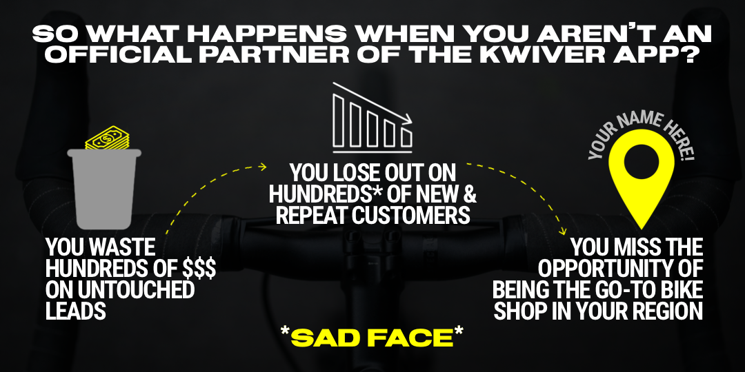 Don't throw away hundreds of dollars. Become a Kwiver partner today