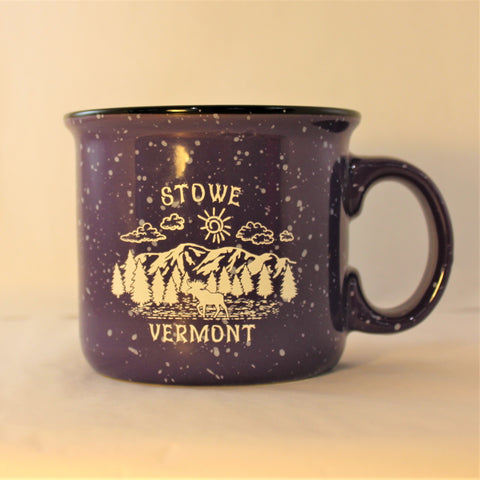 14oz Stowe Camper Mug Purple