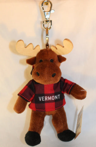 "Moose ""Vermont"" Key Chain"