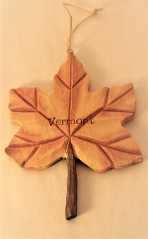 Hanging Ornament-Maple Leaf