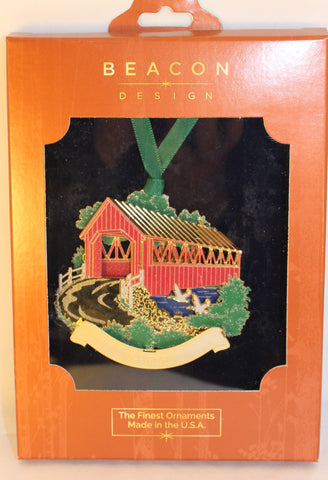 VT Covered Bridge Ornament