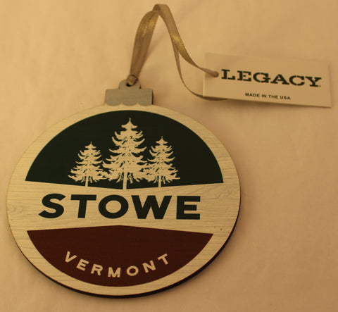 Stowe Pin Back Ornament