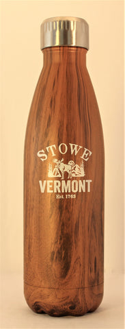 17oz Stowe Cola Bottle Woodgrain