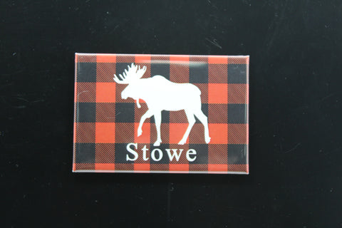 Stowe Plaid Magnet