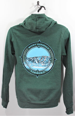 Ski Compass Hoody Forest