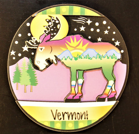 Moonlite Moose Magnet