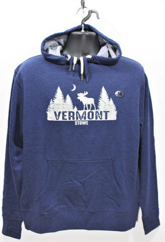 Moonwalk Hoody Navy Heather