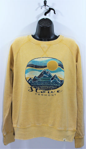 Snippets Mtn Crew SS Mustard