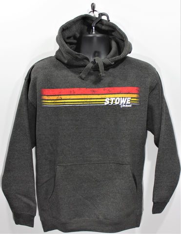 Stripe Rise Hoody Graphite/Retro