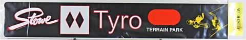 Tyro Trail Sign
