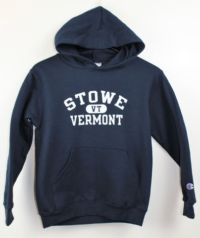 Kids Stowe Arch Hooded SS Navy