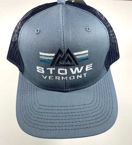 Peak Power Trucker Cap Steel/Navy