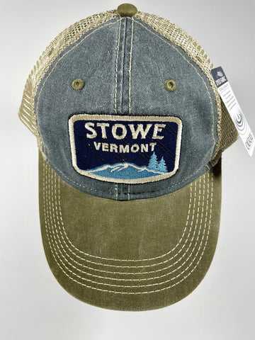 Qulited Iconable Trucker Cap Spruce/Khaki