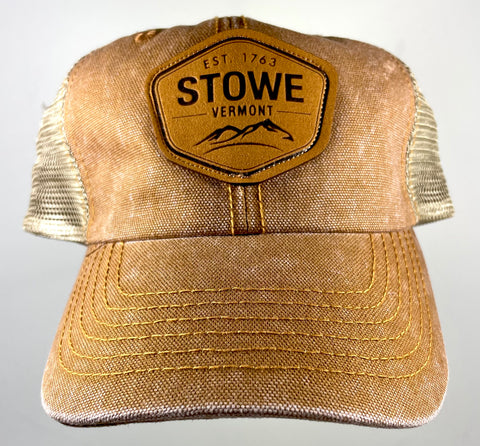 Stowe Patch Trucker Cap