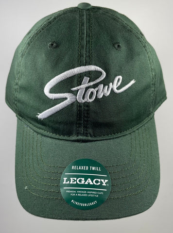 Stowe Logo Hat Dark Green